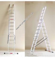Лестница трехсекционная Alpos 44-10