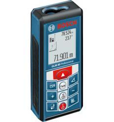 Лазерный дальномер Bosch GLM 80 Professional с линейкой R 60