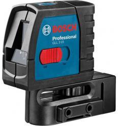 Линейный лазерный нивелир Bosch GLL 2-15 Professional с настенным креплением BM 3
