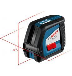 Линейный лазерный нивелир Bosch GLL 2-50 Professional с держателем BM 1 и приемником LR 2