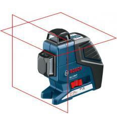 Линейный лазерный нивелир Bosch GLL 2-80 P Professional с держателем BM 1 и приемником LR 2