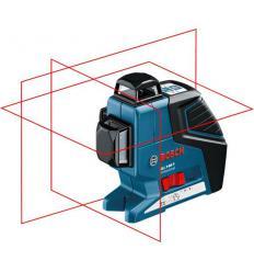 Линейный лазерный нивелир Bosch GLL 3-80 P Professional с держателем BM 1 и приемником LR 2