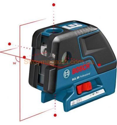 Комбинированный лазер Bosch GCL 25 Professional со штативом BS 150