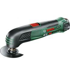 Аккумуляторный многофункциональный инструмент Bosch PMF 10,8 LI с аккумулятором 2,0 Ач