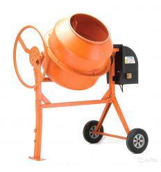 Бетономешалка 140Л оранжевая