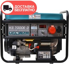 Генератор бензиновый Konner&Sohnen KS 7000E-3