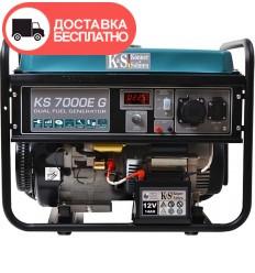 Генератор бензино-газовый Konner&Sohnen KS 7000E G