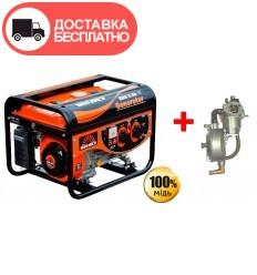 Бензиновый генератор Vitals ERS 2.5b с газовым модулем в подарок