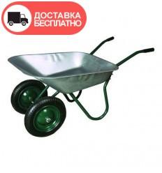Тачка двухколесная Vitals 65/130 зеленая