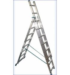Лестница-стремянка трехсекционная Werk LZ3211B