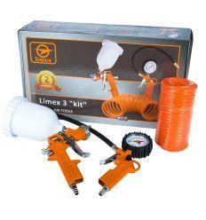 Набор пневмоинструмента Limex 3 kit