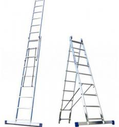 Лестница-стремянка универсальная двухсекционная ITOSS 2x9
