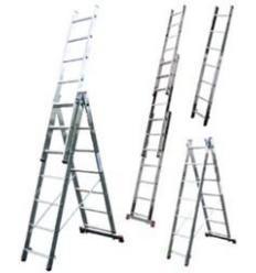 Лестница-стремянка универсальная трёхсекционная ITOSS 3x8