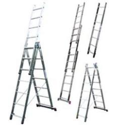 Лестница-стремянка универсальная трёхсекционная ITOSS 3x9