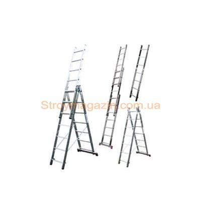 Лестница-стремянка универсальная трёхсекционная ITOSS 3x10