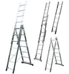 Лестница-стремянка универсальная трёхсекционная ITOSS 3x11