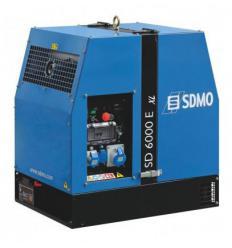 Дизельный генератор SDMO SD 6000 E-XL (Электростарт)
