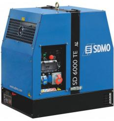 Дизельный генератор SDMO SD 6000 TE XL (Электростарт)