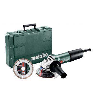 Угловая шлифмашина Metabo W 850-125 SET