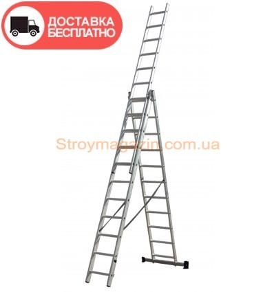 Лестница трехсекционная Кентавр 3х12