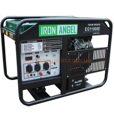 Генератор бензиновый Iron Angel EG 11000 E
