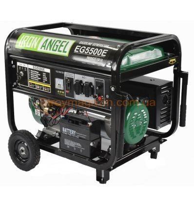 Генератор бензиновый Iron Angel EG 5500 E