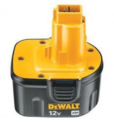 Аккумулятор DeWalt DE9501 NiMH, 12 V, 2,6 А/ч, 3000 циклов