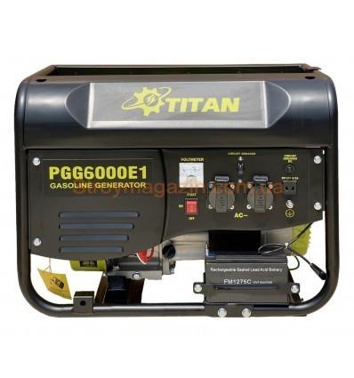 Генератор бензиновый Титан PGG6500E1