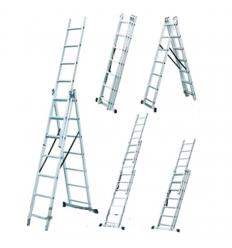Лестница-стремянка трехсекционная Werk LZ3208B