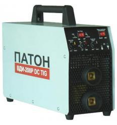Выпрямитель сварочный инверторный Патон ВДИ-200P DC MMA/TIG