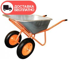 Тачка строительная двухколесная Vitals 100/250