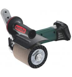 Аккумуляторная шлифмашина щеточная Metabo S 18 LTX 115 INOX (каркас)