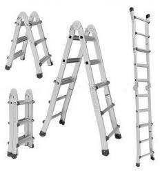 Телескопическая универсальная лестница Кентавр 4х4
