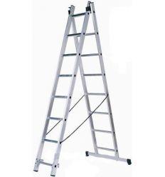 Лестница универсальная двухсекционная Кентавр 2х8