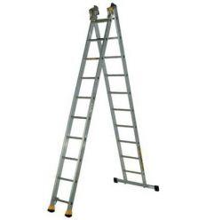 Лестница универсальная двухсекционная Кентавр 2х10