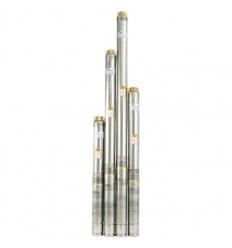 Центробежный многоступенчатый скважинный насос Насосы+Оборудование 75QJD130-0.75 + пульт
