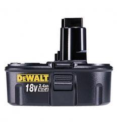 Аккумулятор DeWalt DE9096 NiCd, 18 V, 2,4 А/ч, 3000 циклов