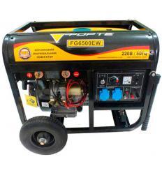 Бензиновый сварочный генератор Forte FG6500EW