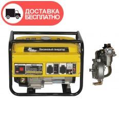 Бензино-газовый генератор Кентавр КБГ 258