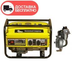 Бензино-газовый генератор Кентавр КБГ 258а
