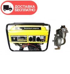 Бензино-газовый генератор Кентавр КБГ 258Э
